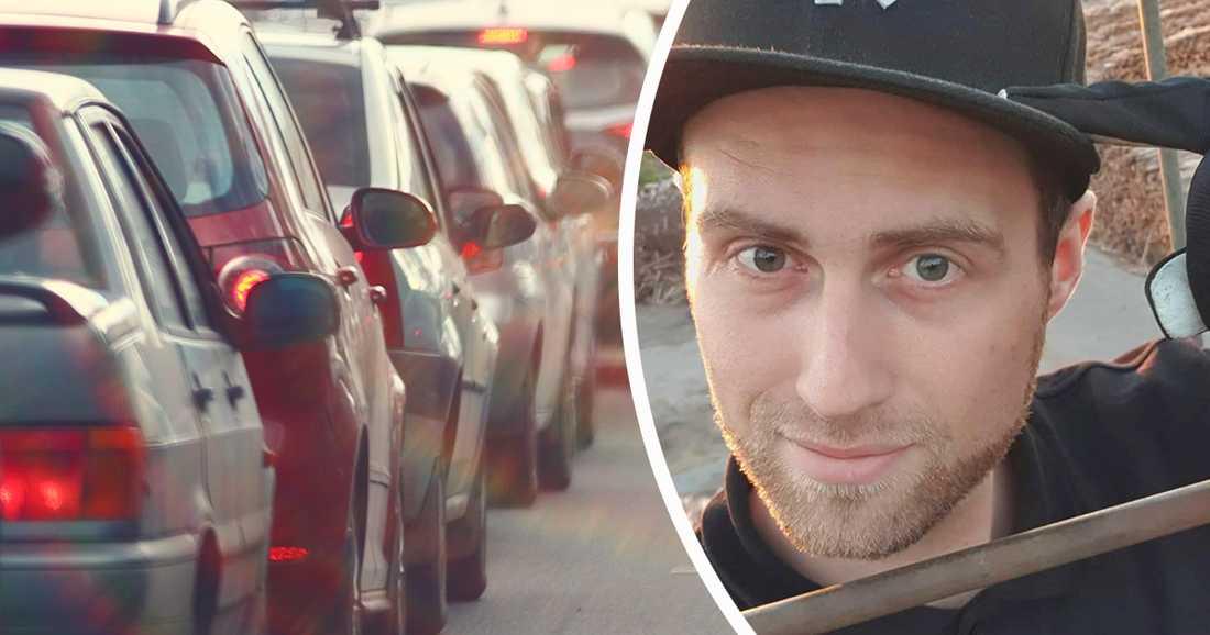 Kim Bergkvist agerade blixtsnabbt när han var först på plats vid en trafikolycka. Han larmade 112 och stannade hos mannen som blivit påkörd av en lastbil.