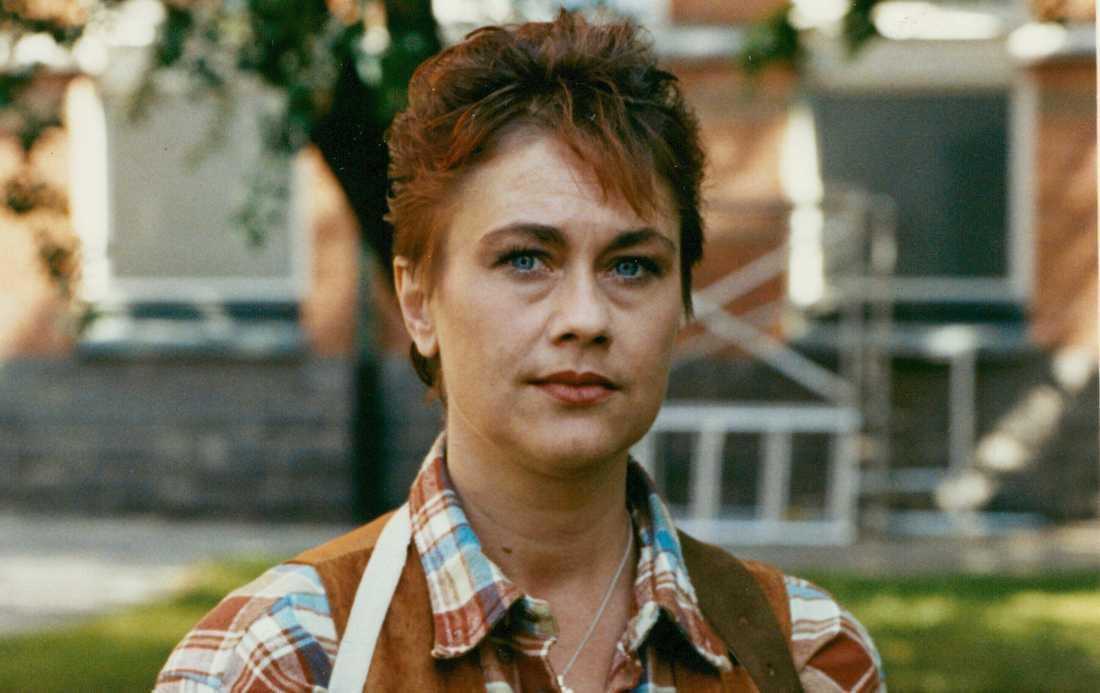 Anne-Li Norberg år 1990.