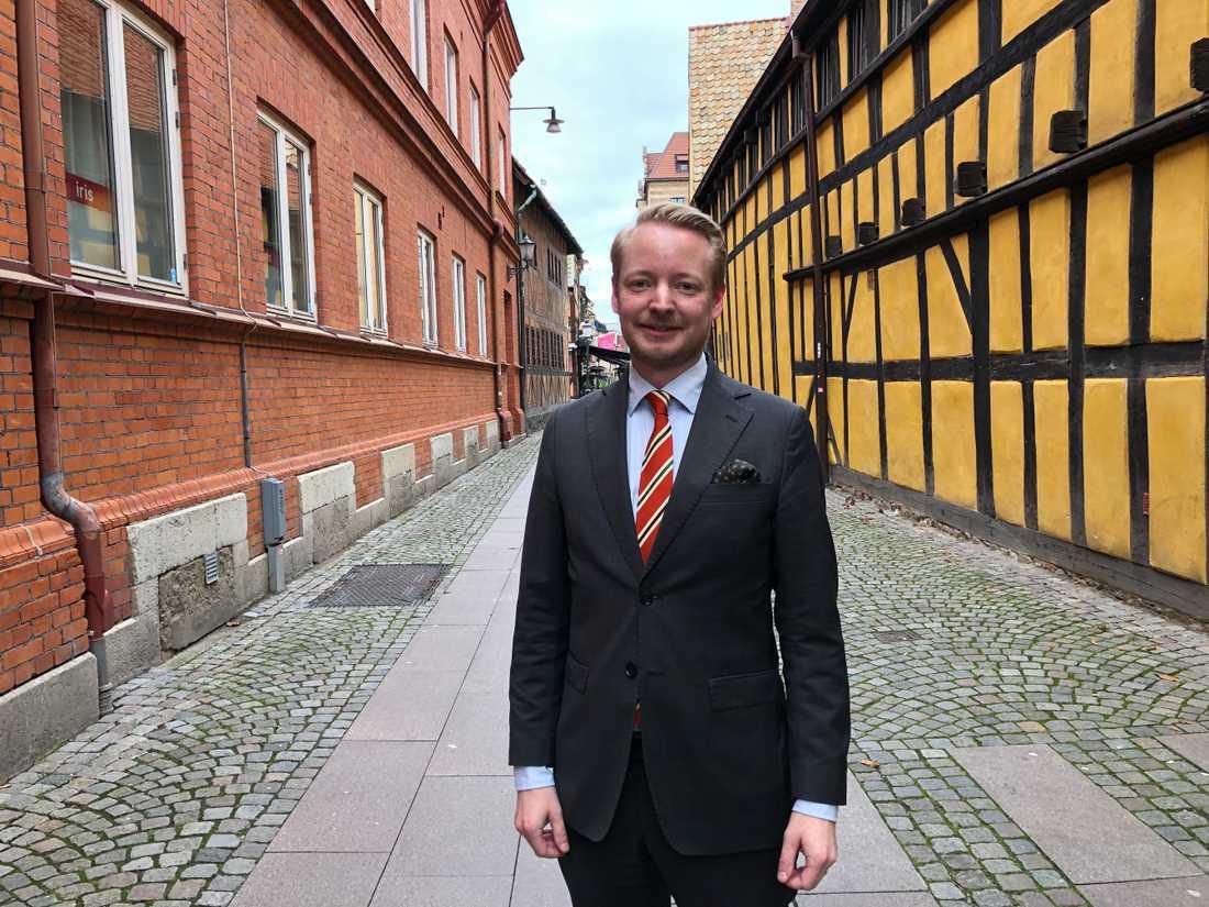 Moderaterna med Torbjörn Tegnhammar i spetsen lägger i år fram ett eget budgetförslag.