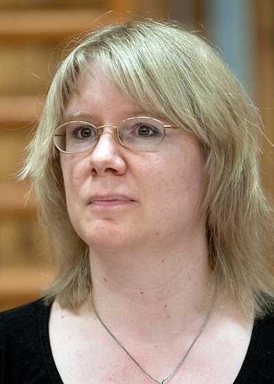 Pernilla Hagberg, miljöpartiets gruppledare i Vingåker.
