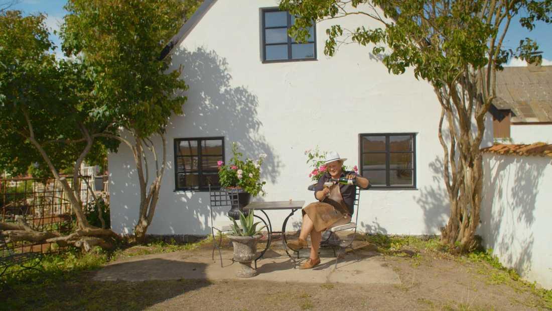 Boningshuset är från 1923, men gården har anor från 1600-talet. Pressbild.