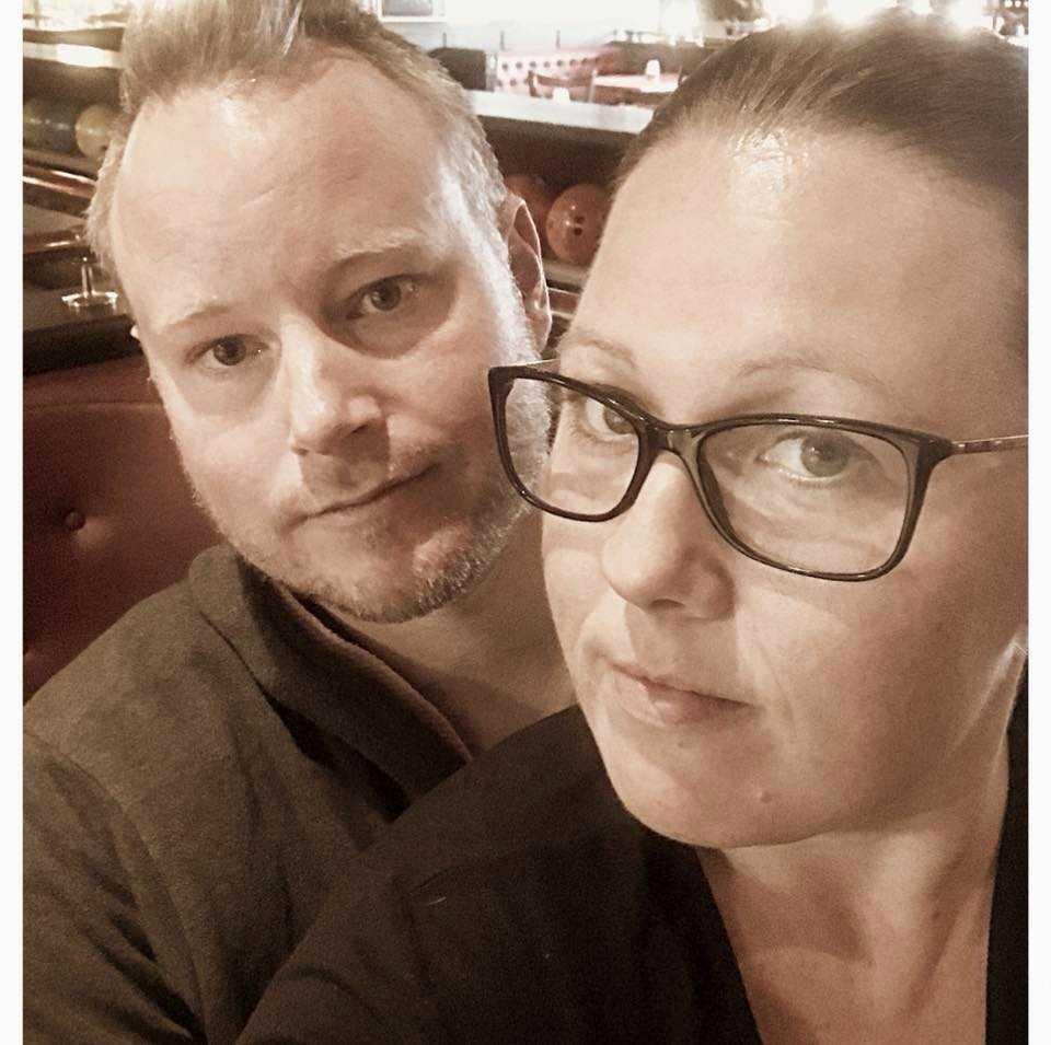 Andreas och Ann-Sofie.