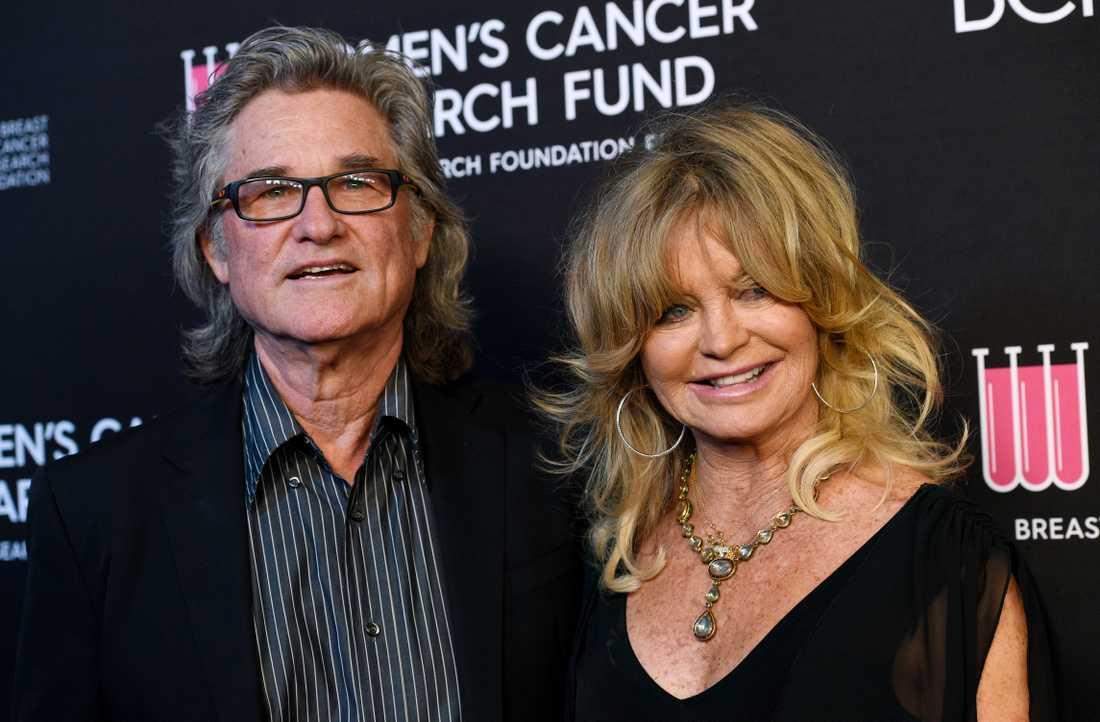 Kurt Russell och Goldie Hawn har varit ett par i 37 år