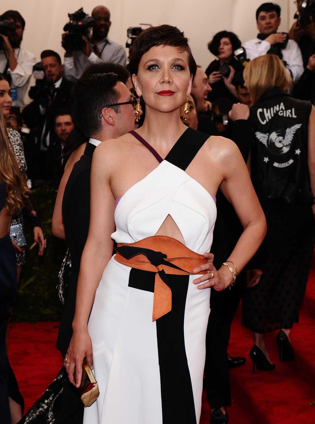 Skådespelerskan Maggie Gyllenhaal.