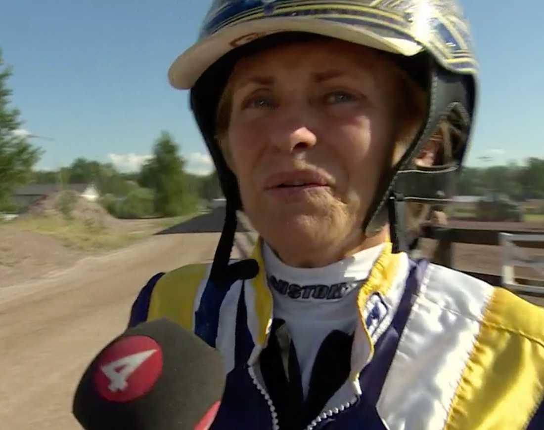 Tränaren Catarina Lundström.