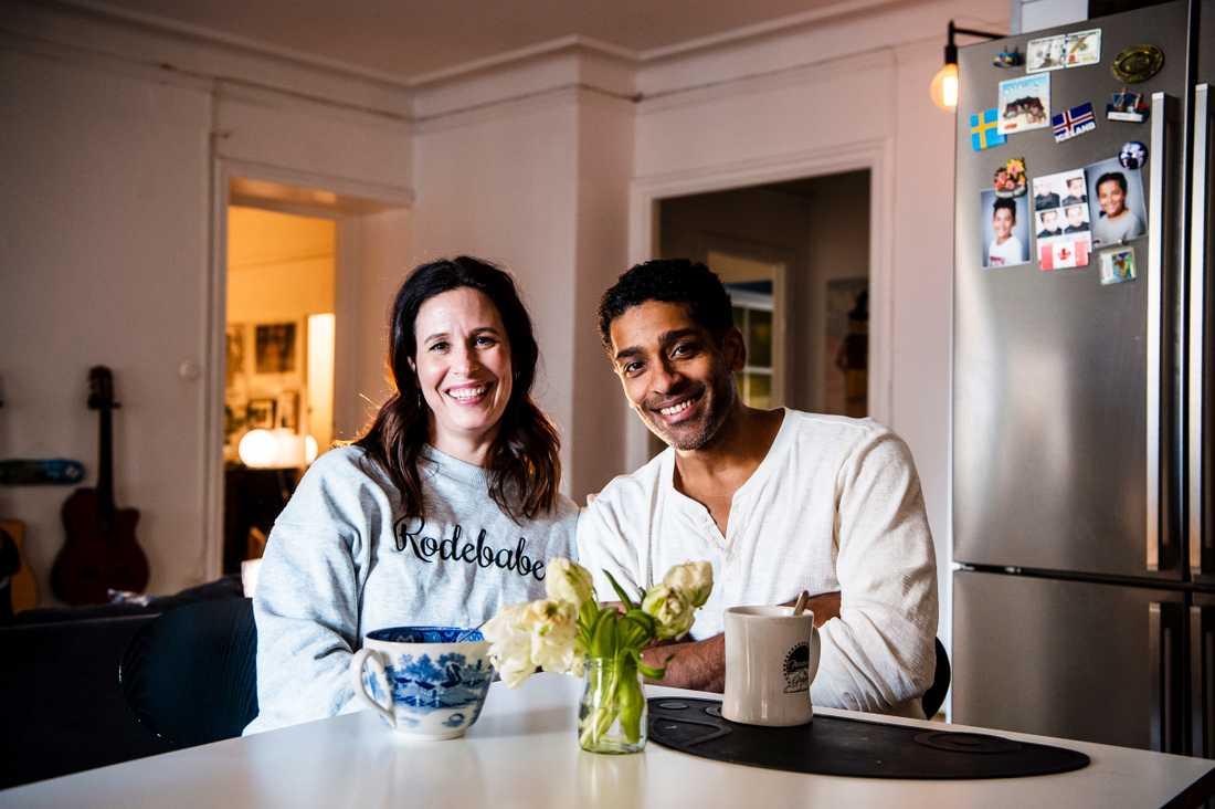 Malin och Alexander Karim – Aftonbladet Familys nya krönikörer.