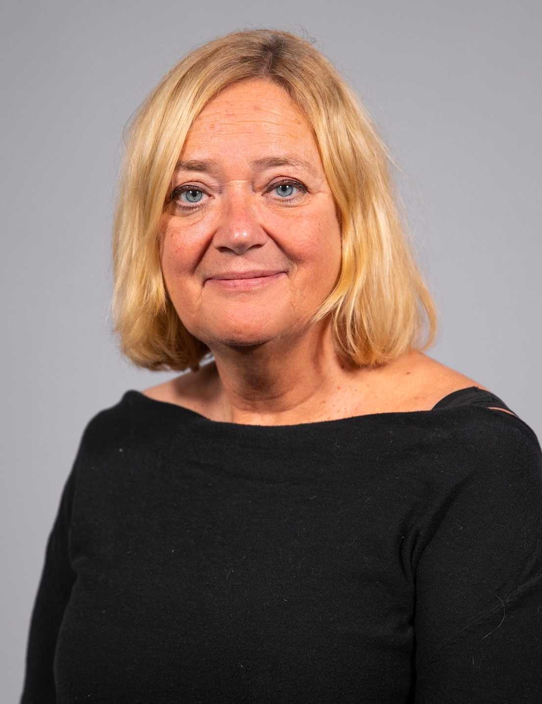 Annika Bjerstaf, presschef på Volvo Cars i Sverige.