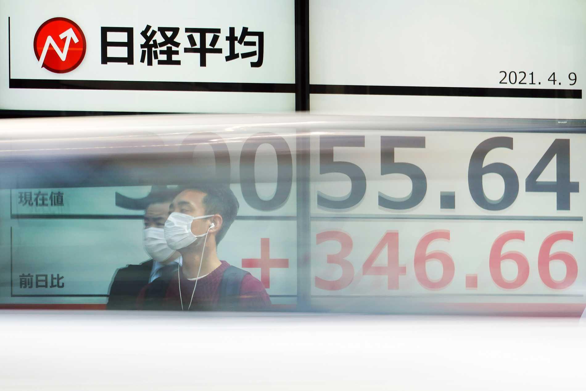Kina-siffror höll Asienbörser uppe