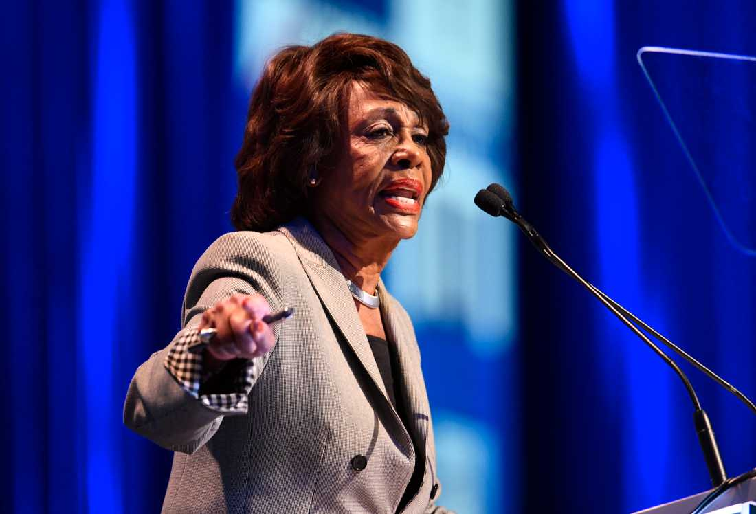 Kongressledamoten Maxine Waters.