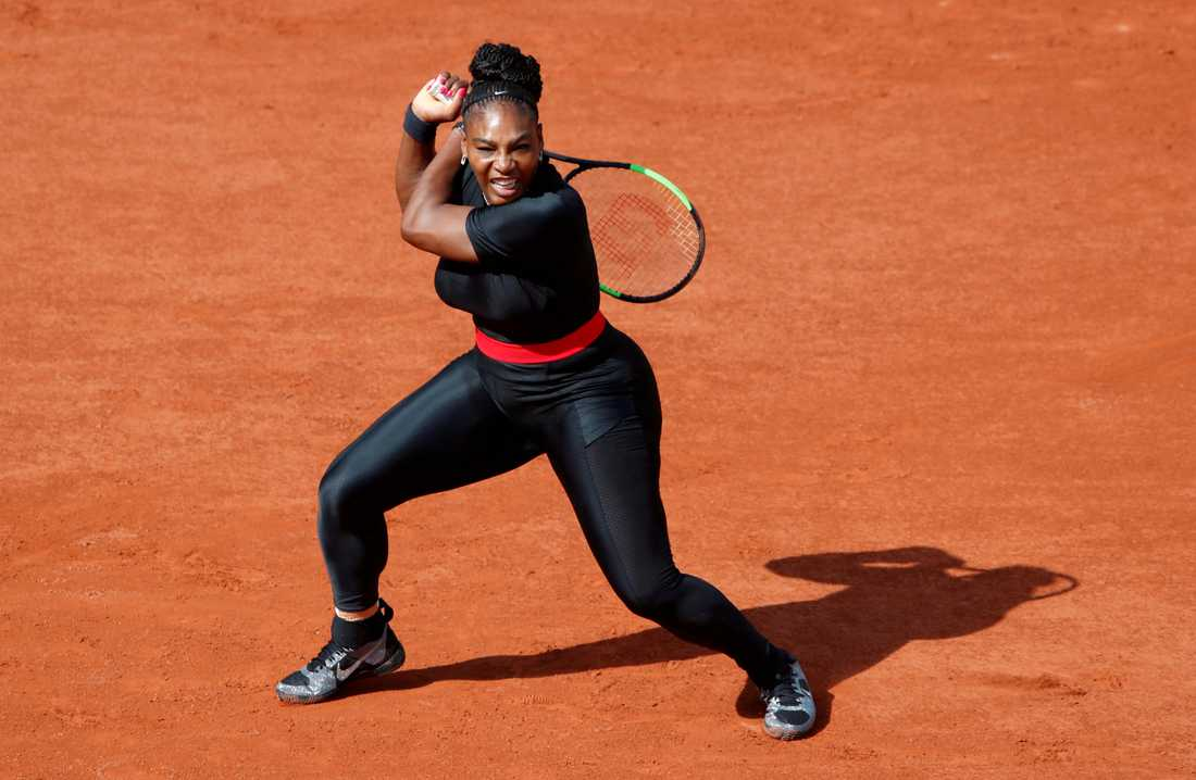 7a7da959b2a3 Serena Williams i Black Panther-inspirerad dräkt | Aftonbladet