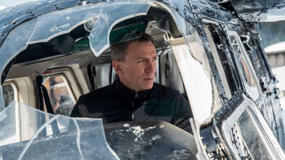 Daniel Craig i en tidigare Bond-film.