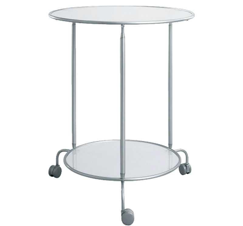 """Flyttbart. Litet sidobord på hjul, """"Heimdal"""", Ikea, 279 kr."""