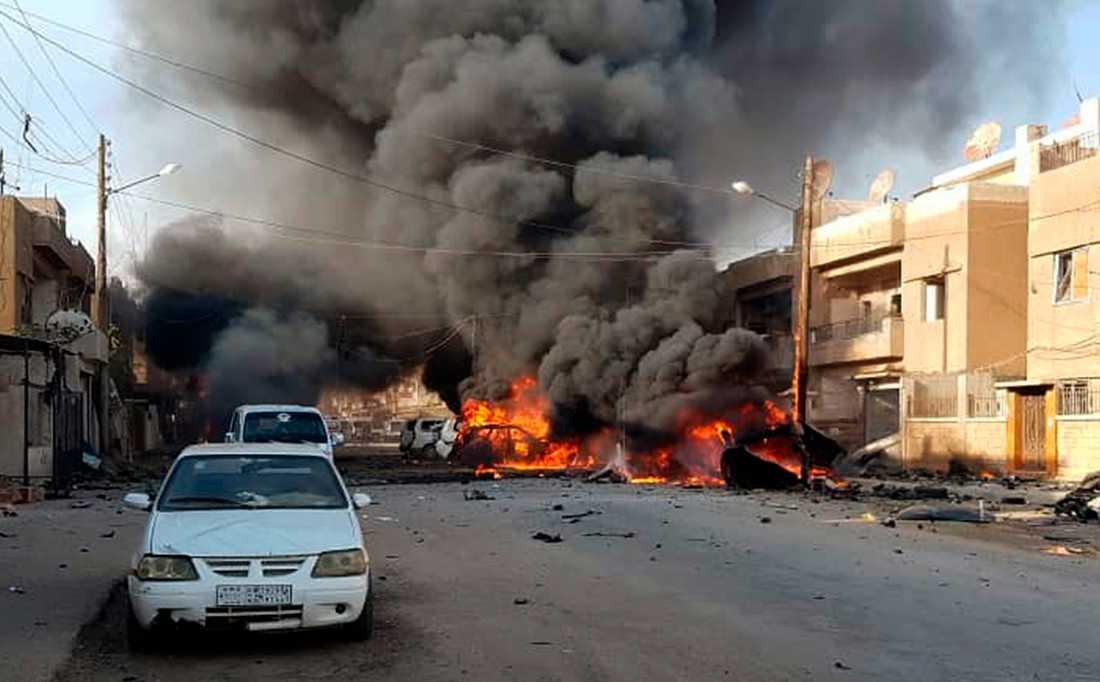 Hjälporganisationen Folkekirkens Nødhjælp backar från norra Syrien, till följd av säkerhetsläget.