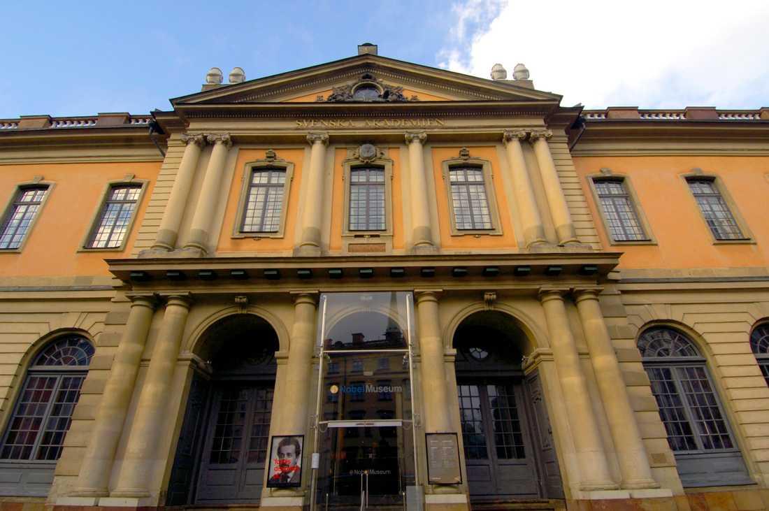 Börshuset där Svenska Akademien håller sina möten.