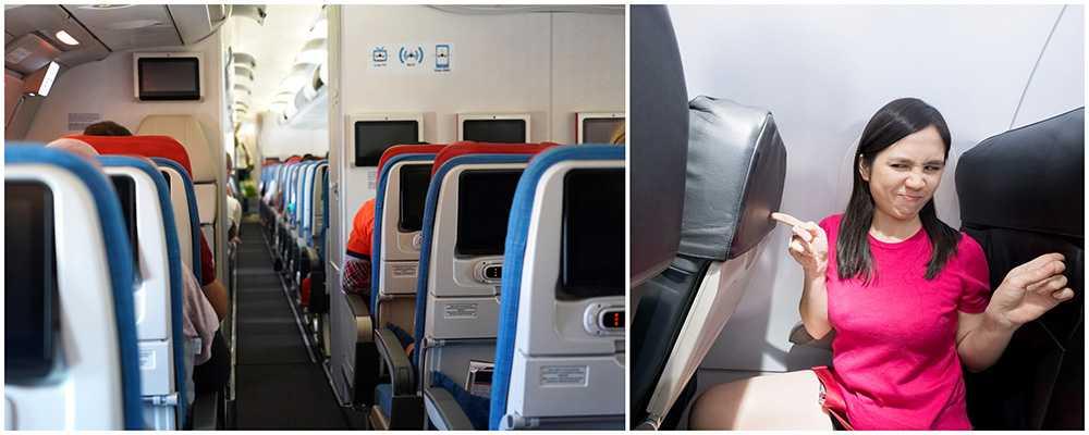 Delta Airlines förbjuder passagerare att fälla stolsryggen mer än 5 cm.