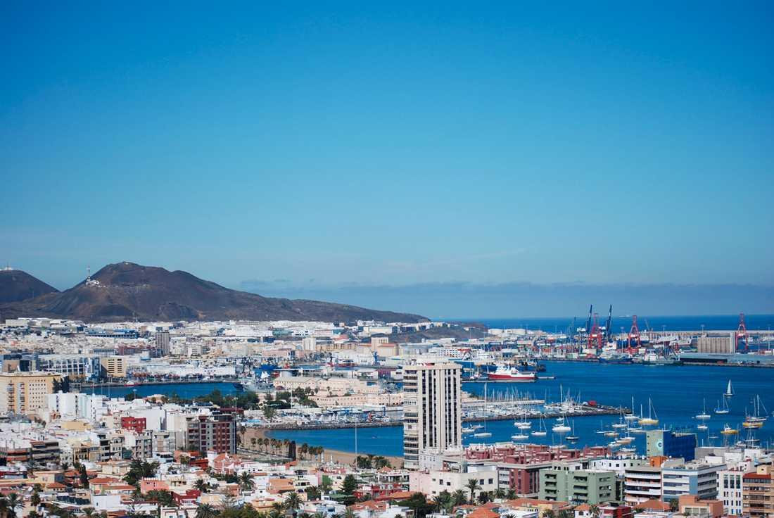Las Palmas, Gran Canaria Populärt för julfirande.