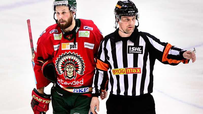 Mikael Nord med Dick Axelsson, Frölunda.