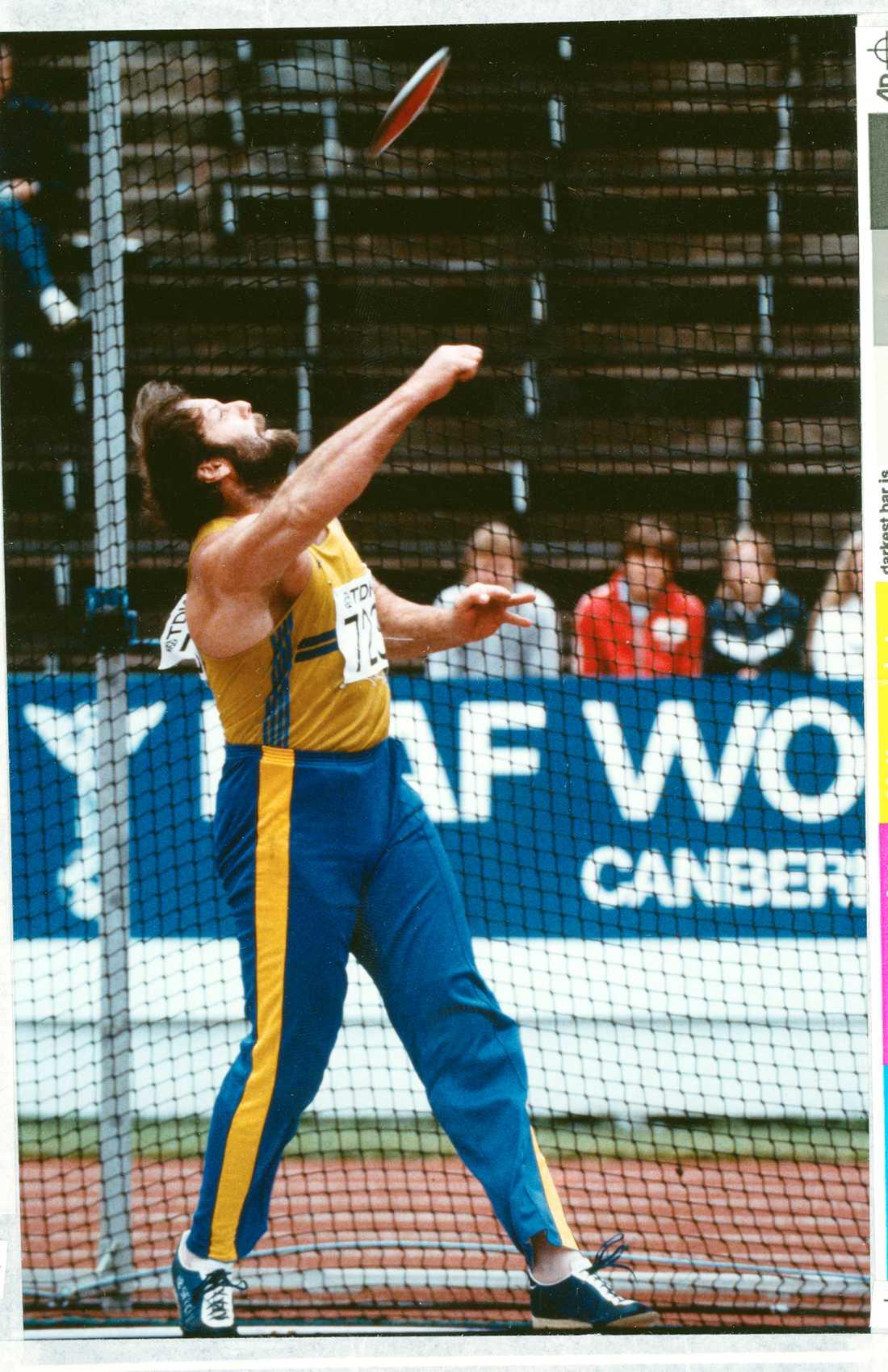 I världshistoriens första VM, 1983 i Helsingfors.