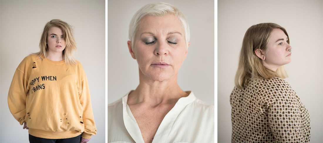 Många av gruppvåldtäktsoffren mår mycket dåligt. Aftonbladet har talat med kvinnor som utsatts men inte ville eller vågade polisanmäla.