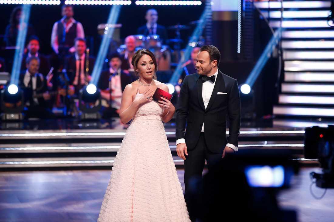 """""""Tack till er som tittade och hejade"""", skriver Tilde de Paula Eby efter """"Let's dance""""-debuten."""