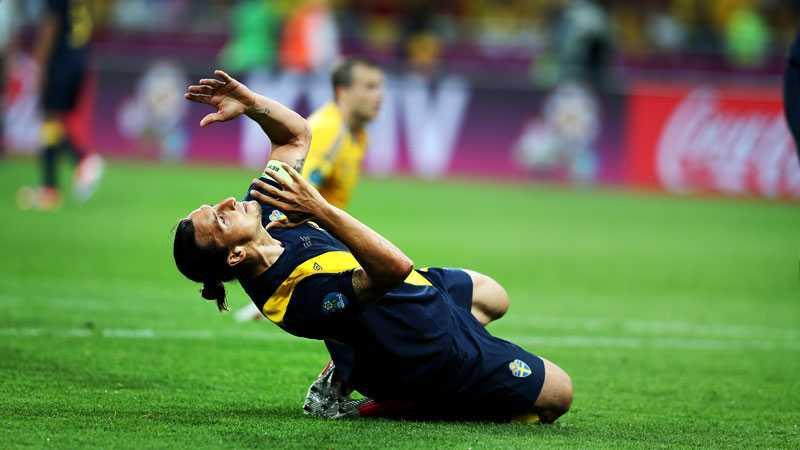Det blev inte riktigt som Zlatan tänkt sig.