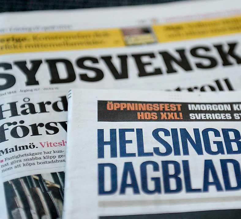 Helsingborgs Dagblad köptes upp av Sydsvenskan tidigare i år. Foto: TT