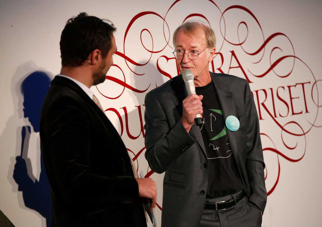 Tom Alandh tilldelades Stora Journalistpriset.
