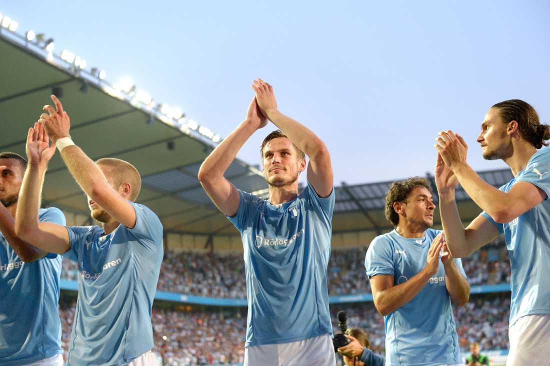 Malmös store hjälte Markus Rosenberg tackar fansen.