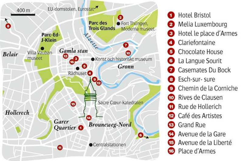 Luxemburg - Guide med tips | Aftonbladet