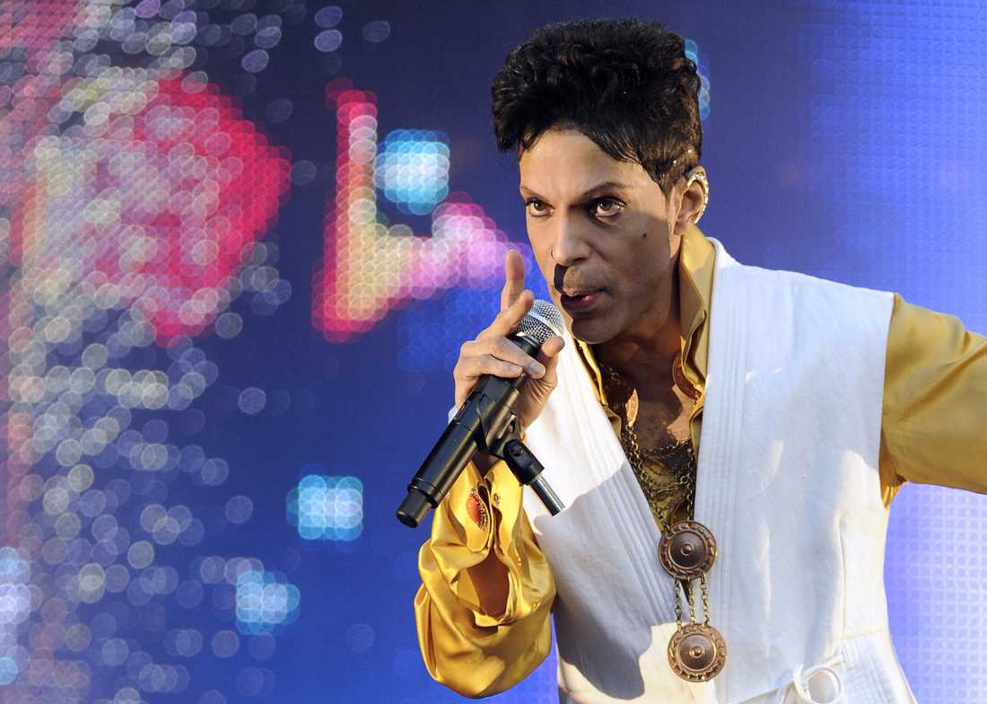 Prince i Paris juni 2011