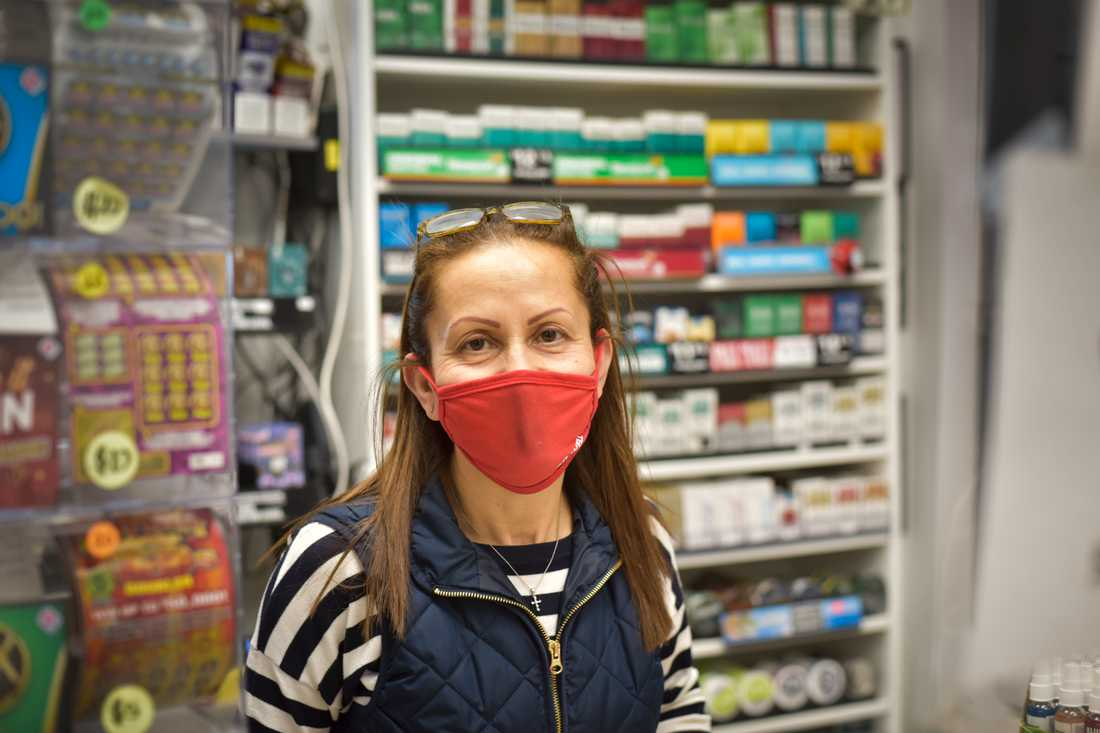 Giselle Azar tror att det mesta ordnar sig om USA får kontroll på coronapandemin.