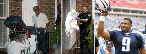 Här, i en lägenhet i Memphis, hittades Steve McNair skjuten. McNair var en superstjärna i NFL.