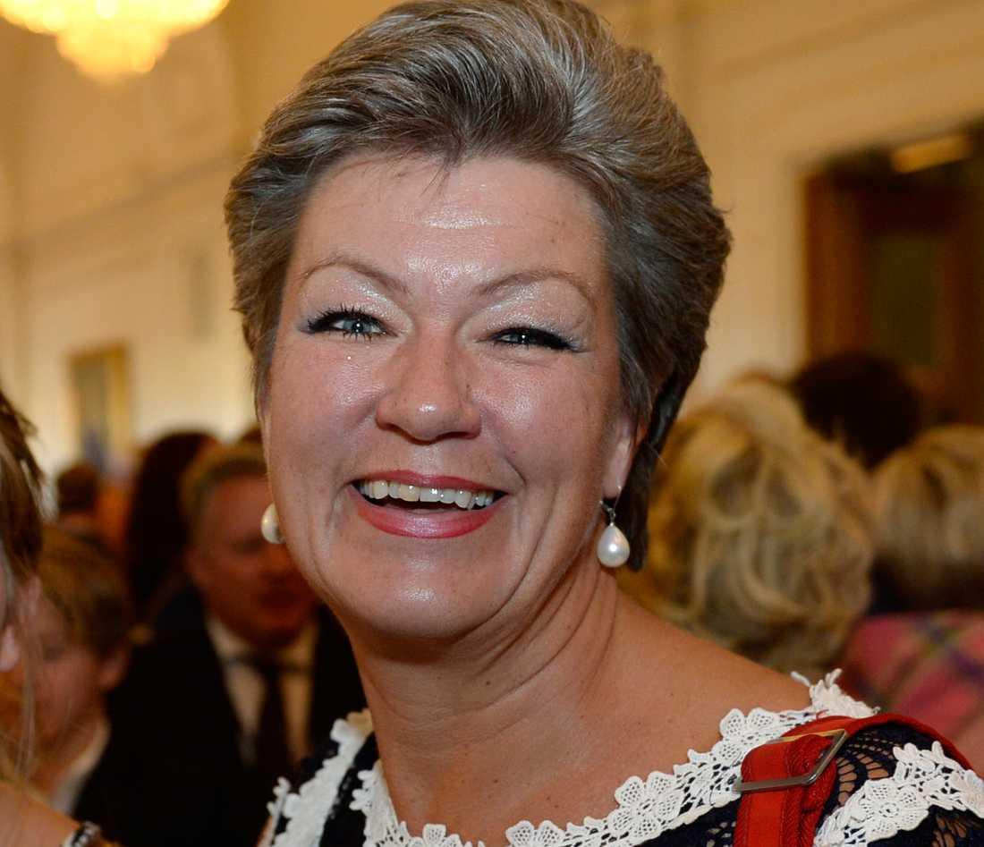 Arbetsmarknadsminister Ylva Johansson (S), 50