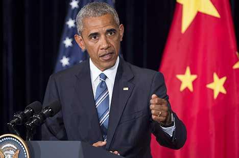 Obama under G20-mötet