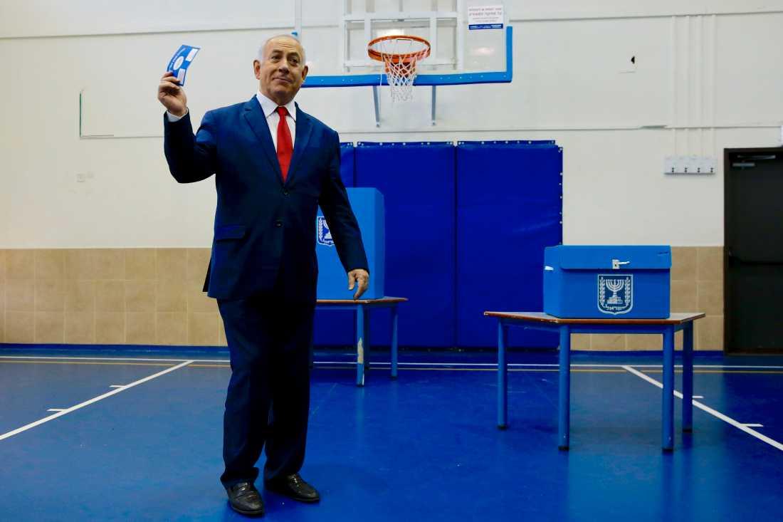 Israels premiärminister Benjamin Netanyahu har misslyckats med regeringssonderingarna. Arkivbild.
