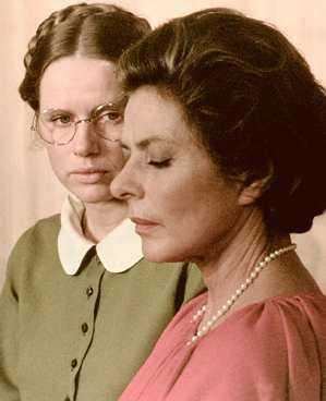 Liv Ullmann och Ingrid Bergman.