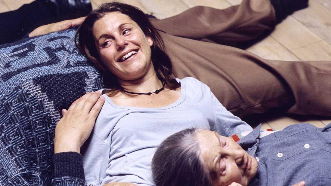 """Helen Sjöholm i filmen """"Så som i himmelen""""."""