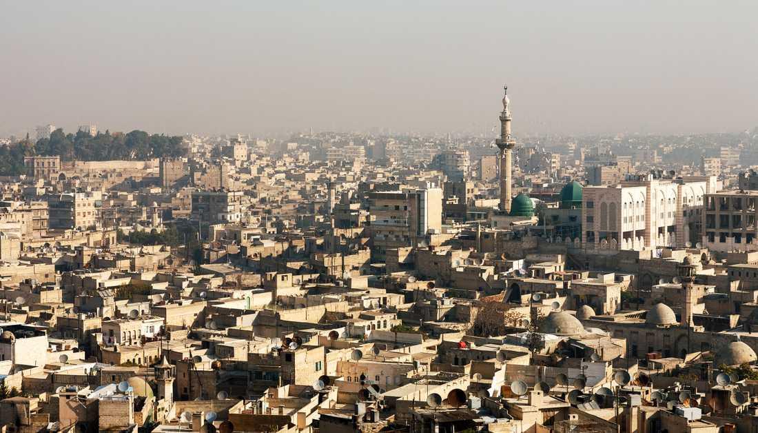 Aleppo var innan kriget började Syriens viktigaste industristad och ett kommersiellt centrum.