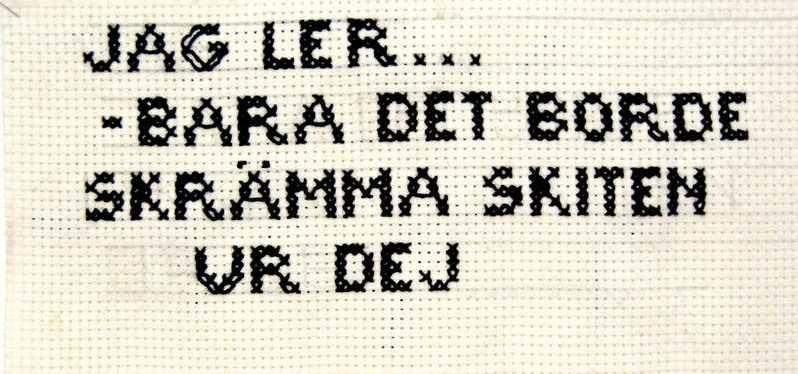 Stygn: Mia Grönkvist-Olsson