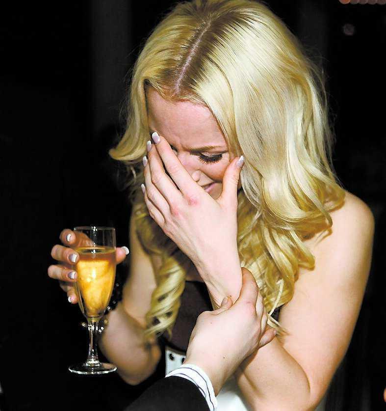 Sofia Berntson blev så rörd att hon började gråta på efterfesten.