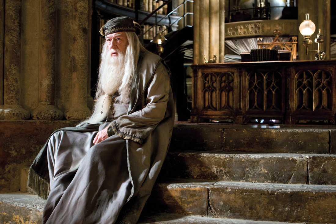 Michael Gambon som Albus Dumbledore.