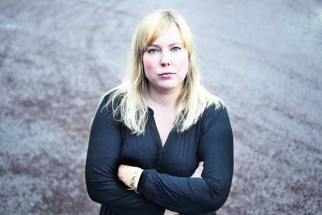 Aftonbladets Linda Hjertén.