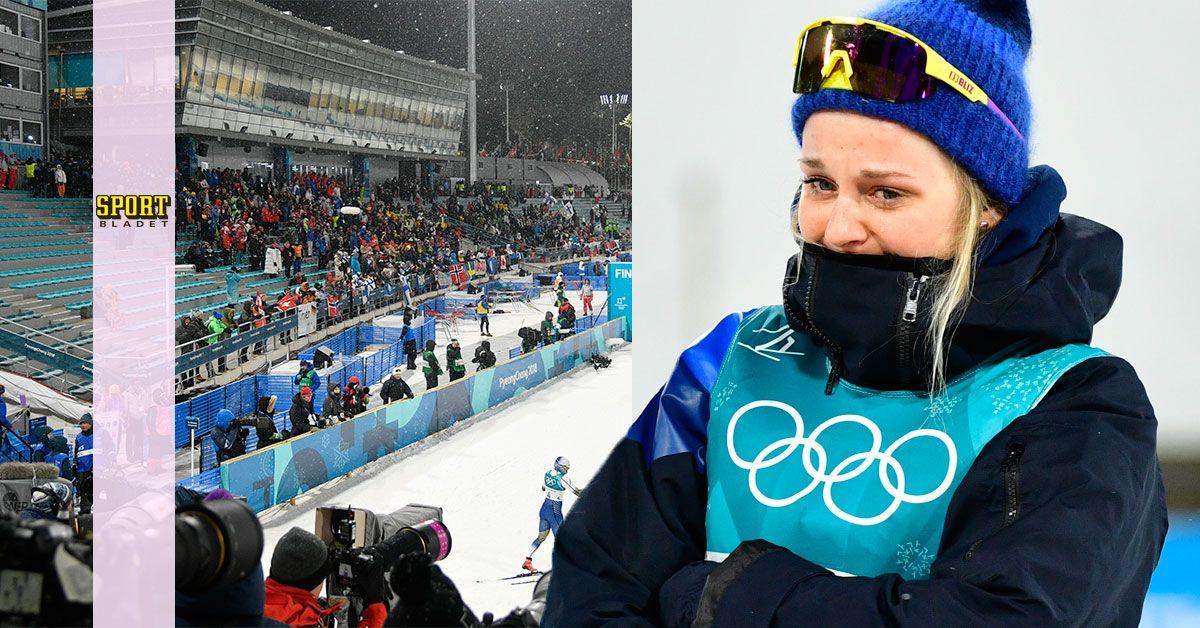 Stina Nilsson förtjänade mer i OS 2018, skriver Patrik Brenning