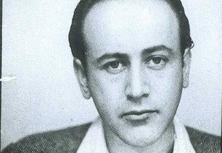 Poeten Paul Celan.