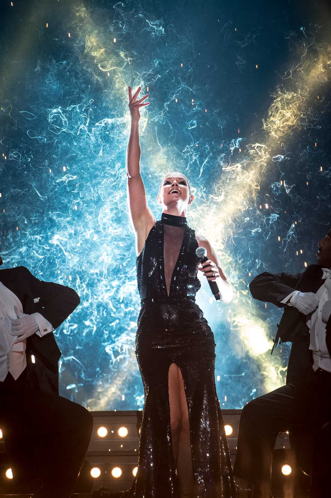 Linda Bengtzing i Melodifestivalen 2016.