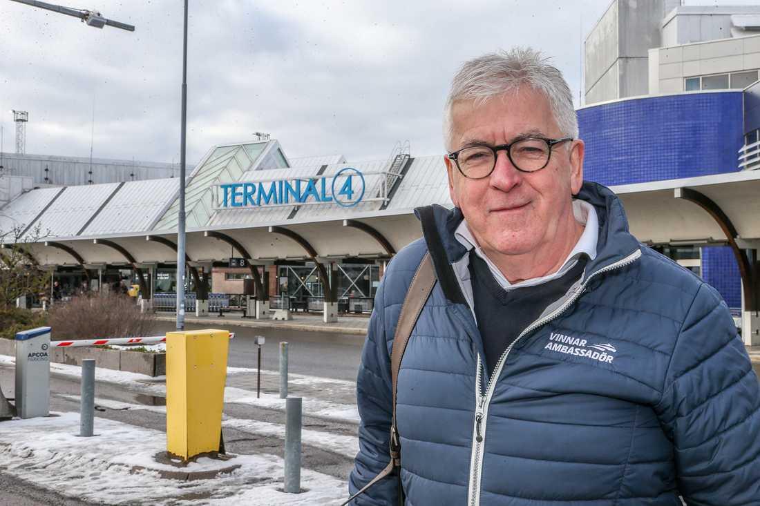 ATG:s vinnarambassadör Hans G Lindskog