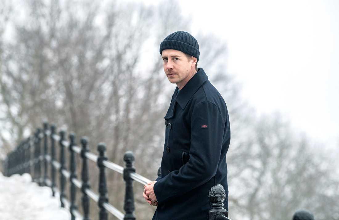 """Pål Sverre Hagen spelar den snuskigt rike men mentalt instabile William i """"Exit""""."""