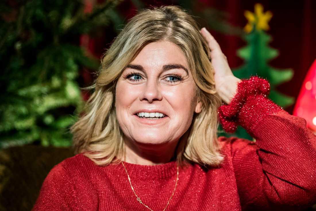 Pernilla Wahlgren är aktuell med SVT:s julkalender