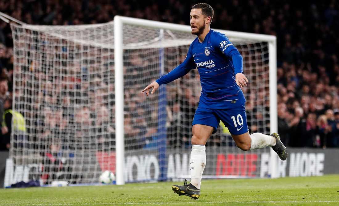 Eden Hazard i Chelsea påstås tjäna drygt 100 miljoner kr om året.