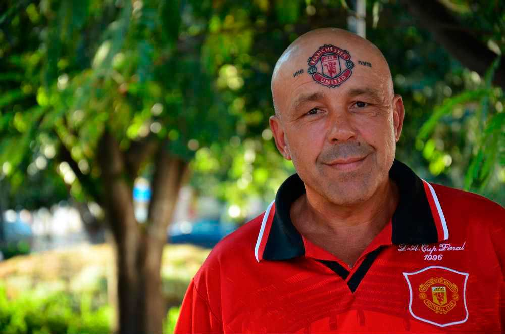 Zdravko Levidjov, 50-årig United-supporter.